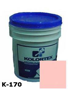 KOLORTEX K-170 ROSA MEDIO PLAST. DECO. CUNETE 5GAL