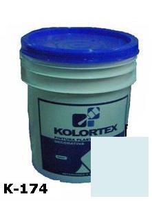 KOLORTEX K-174 CELESTE PLAST. DECO. CUNETE 5GAL