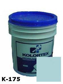 KOLORTEX K-175 AZUL CLARO PLAST. DECO. CUNETE 5GAL