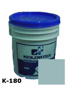KOLORTEX K-180 AZUL MEDIO PLAST. DECO. CUNETE 5GAL
