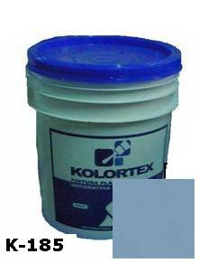KOLORTEX K-185 AZUL ALTO PLAST. DECO. CUNETE 5GAL