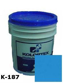 KOLORTEX K-187 AZUL CLASICO PLAST. DECO. CUNETE 5GAL