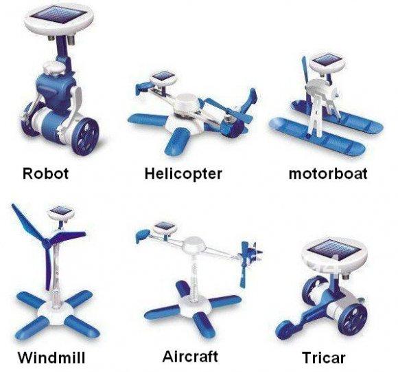 6-IN-1-Robots Solar