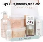 Opi lotions,creams,oils