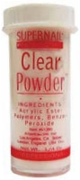 SuperNail Pro Acrylic Powder ~CLEAR~ 0.25oz