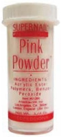 SuperNail Pro Acrylic Powder ~PINK~ 0.25oz