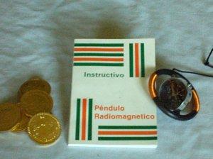 RADIESTESIA PENDULO RADIOMAGNETICO