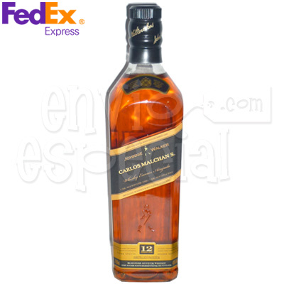 Whisky Johnnie Walker Etiqueta Negra Personalizado