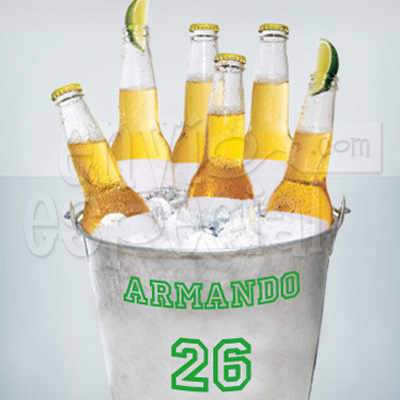 Cubeta de Cervezas Personalizada