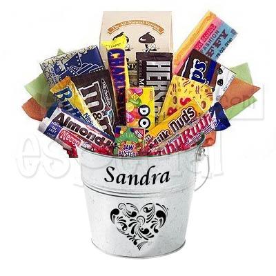 Cubeta de Chocolates Personalizada
