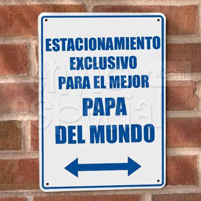 Placa de Estacionamiento Personalizada
