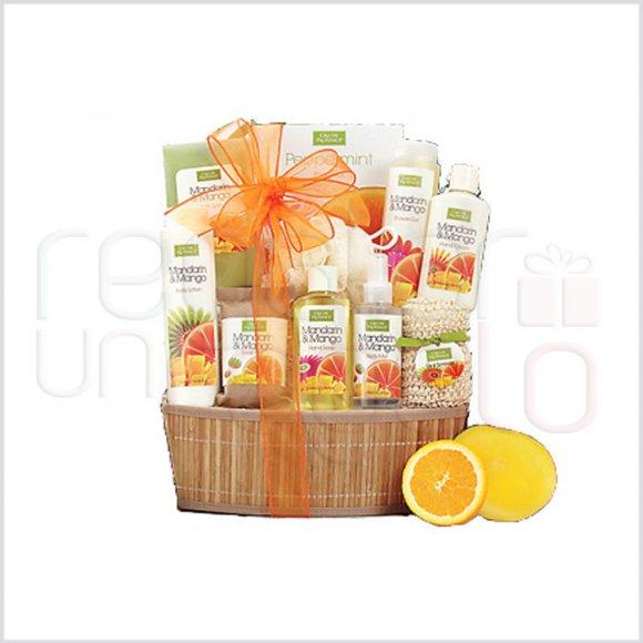 Mandarina y Mango Spa