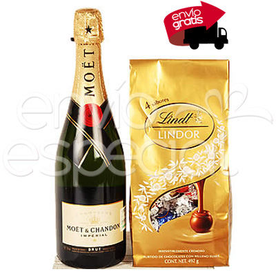 Moët Chandon y Chocolates Lindt Lindor