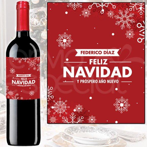 -Vino Navidad Roja