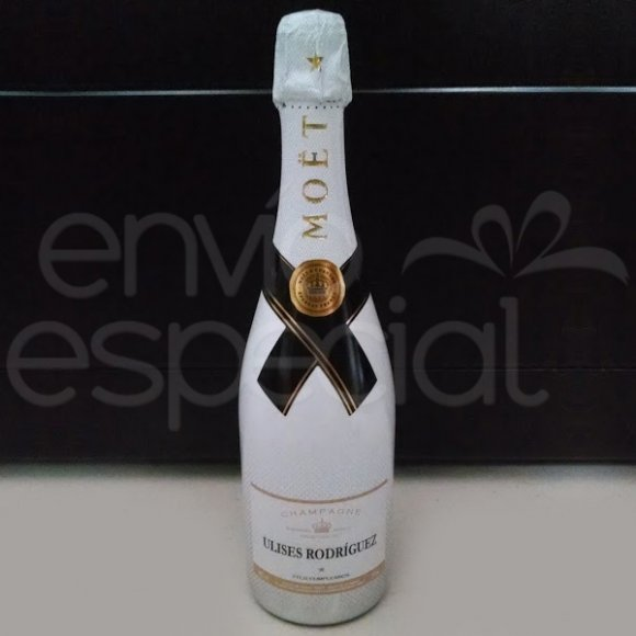 Champagne Moët Ice Imperial Personalizada