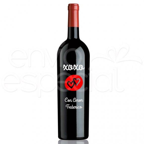 Vino XOXO, Personalizado