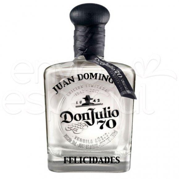 Tequila Don Julio 70 Personalizado