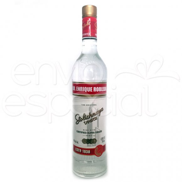Vodka Stolichnaya Personalizado