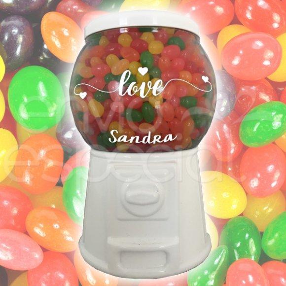 Dispensador con Jelly Beans Personalizado