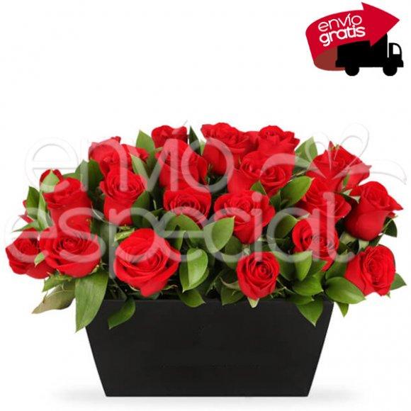 24 Rosas en Canasta