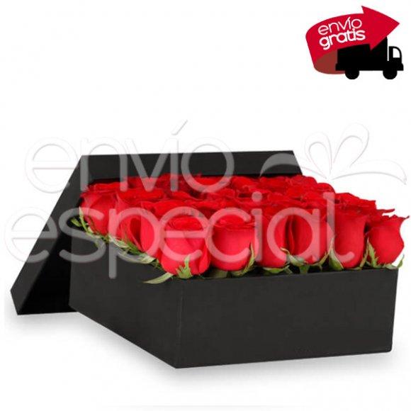 36 Rosas en Caja Premium
