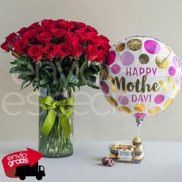 50 Rosas para Mamá, Ferrero y Globo
