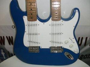Guitarras Tipo Strato Doble Neck 6 -12 Cuerdas