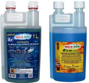 Pack limpieza carbonilla gasolina 1L