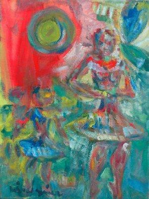 Miguel Gómez-La mujer y la niña