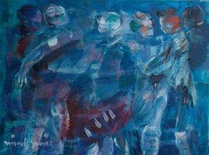 Miguel Gómez-Figuras danza de los azules