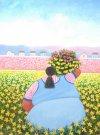 Melchor Terrero-Recolectora de flores