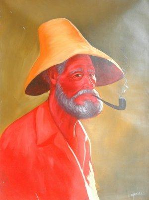 Camarena-Viejo con pipa