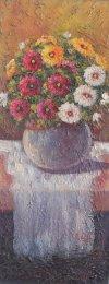 M. Velez-Jarrón de flores