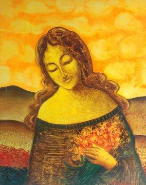 Raimundo Sánchez-La dama y la flor