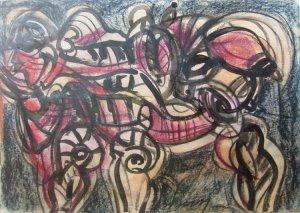 Jesus Desangles-Rostros abstractos