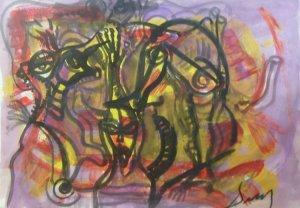 Jesus Desangles-Ciguas abstractas