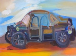 Alberto Ulloa-El carro negro