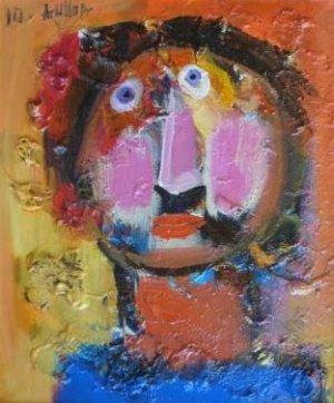 Alberto Ulloa-Retrato de Clotilde