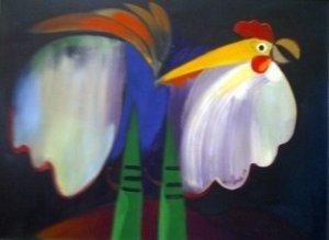 Alberto Ulloa-El gallo blanco