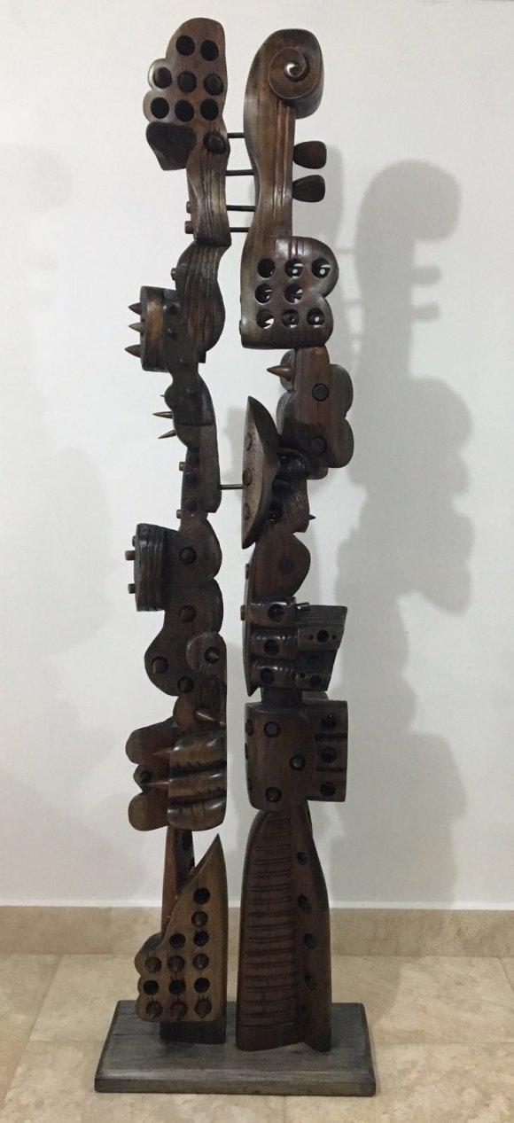 Alberto Ulloa- Escultura