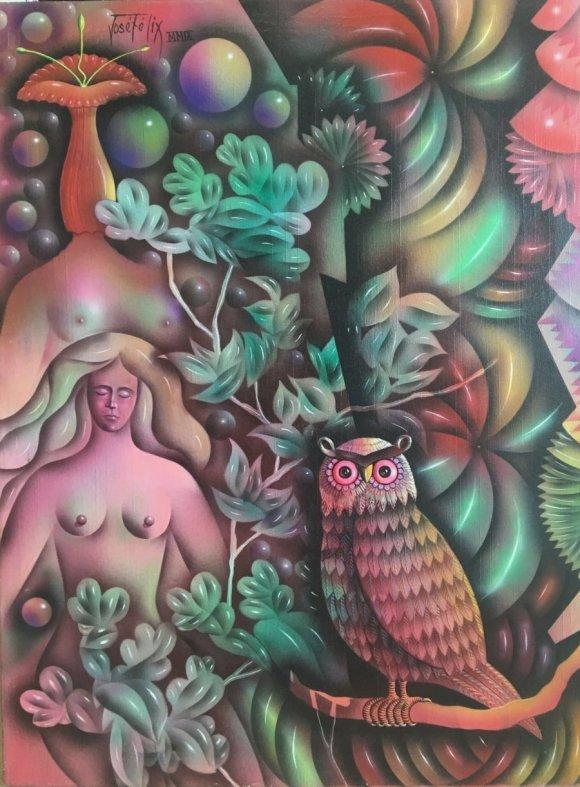 José Félix Moya-Doncella durmiente del paraiso tropical