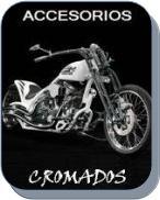 Accesorios Cromados para motos