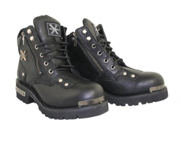 Botas de color Negro cortas para Hombres - Xelement