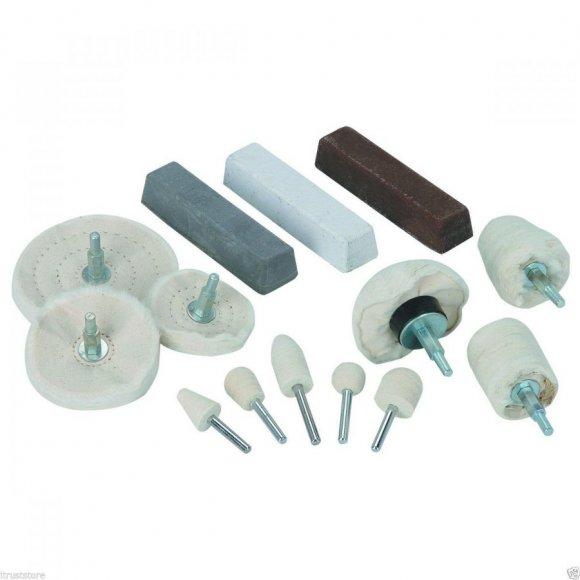 Kit Ruedas de amortiguamiento de la palanquilla llantas de aluminio pulido