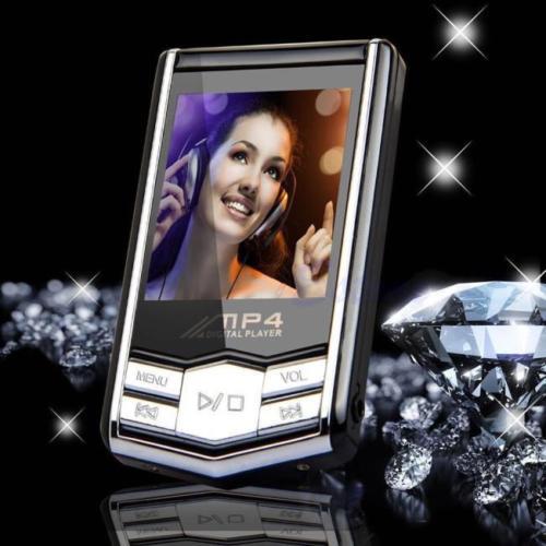 """MP4 Reproductor de música 1.8"""" de pantalla LCD de 4GB / 8GB / 16GB Radio FM MP3 Videojuegos Películas"""