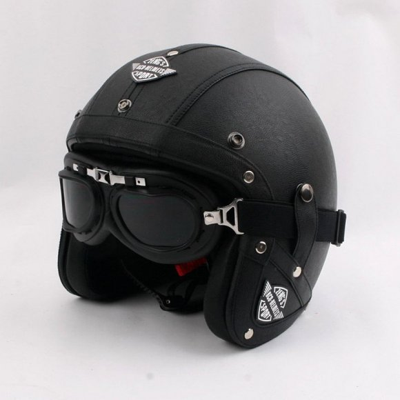 Casco Vintage Cafe Racer, Bobber, Chopper, Enduro