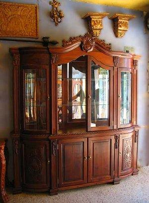 Muebles guatemala trinchante for Muebles de jardin antiguos