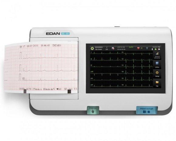 Electrocardiografo Poratil