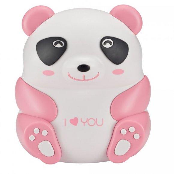 Nebulizador Drive Pediatrico Panda Rosa