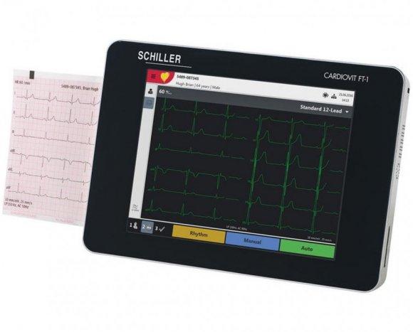 Electrocardiografo Shiller Cardiovit FT-1